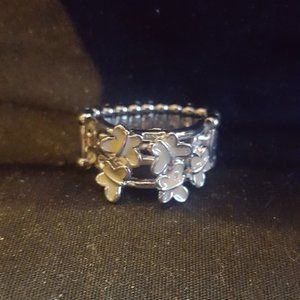 Paparazzi Silver Butterfly Ring